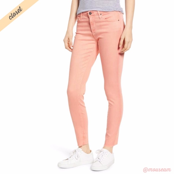 Ag Adriano Goldschmied Denim - [AG] Orange The Legging Super Skinny Ankle Jeans